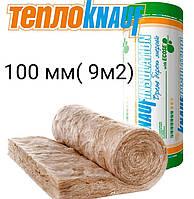 Вата минеральная KNAUF 041-18 100 мм, 9 м2 рулон