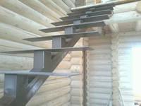 Кованая Лестница на второй этаж в дом