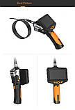 """Відеоендоскоп NTS 300 Teslong з монітором 4,5"""" 3 метра 8 мм дві камери відеоскоп бороскоп ендоскоп технічний, фото 8"""