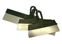 Шпатель нержавеющий с пластмассовой ручкой 60 мм