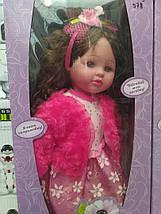 """Кукла M 1501 U/R, """"Маленька панi"""", 55 см, 6 видов, говорит на украинском языке, музыка, на батарейках, фото 2"""