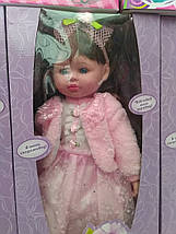 """Кукла M 1501 U/R, """"Маленька панi"""", 55 см, 6 видов, говорит на украинском языке, музыка, на батарейках, фото 3"""