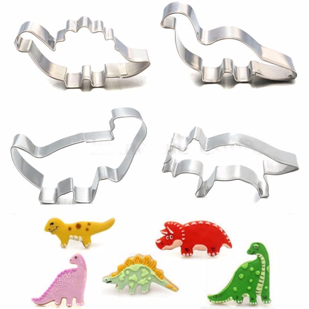 Набір для випічки у формі динозаврів! Ціна за 1 шт.