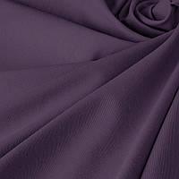 Одноцветная ткань для штор с тефлоновой пропиткой фиолетовая