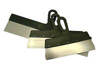 Шпатель нержавеющий с пластмассовой ручкой 80 мм