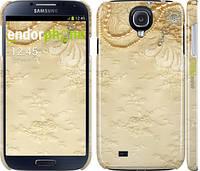"""Чехол на Samsung Galaxy S4 i9500 Кружевной орнамент """"2160c-13"""""""