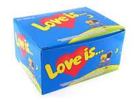 Жвачки Love is блок 100шт