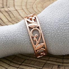 "Кольцо ""Сокровище Амазонки"" Xuping позолота РО, 18 размер (ширина 7мм, вес 4.2г)"