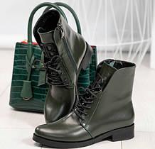 Ботинки, полусапожки на низком ходу деми