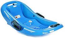 Санки корыто Snow Flipper de luxe голубой