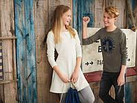 Стильное трикотажное платье для девочки подростка от pepperts германия.размер 158/164 на 12-14 лет., фото 1
