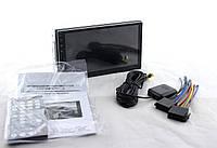 Головное устройство EasyGo автомагнитола автомобильная магнитола  в машину USB, SD, BT, AUX, MP5 7023 с сенсорным дисплеем 2 DIN