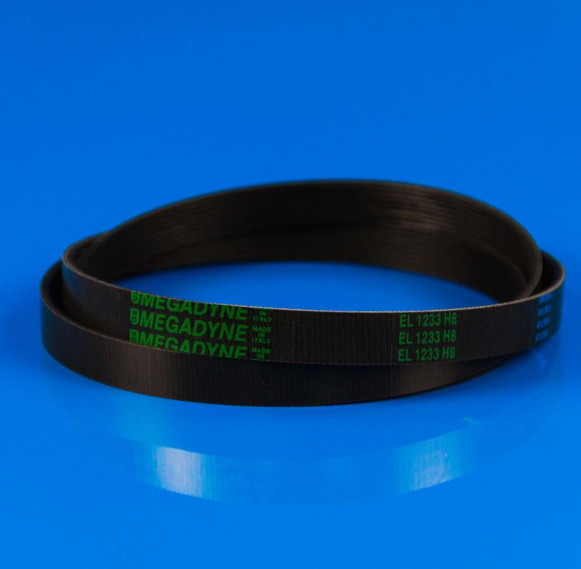 Черный ремень «Megadyne» ARDO 1233 H8 EL