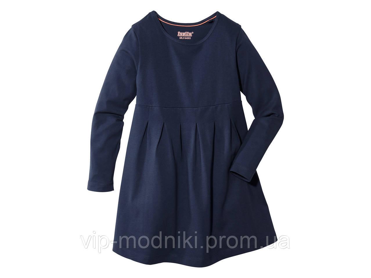 Платье с длинными рукавами от lupilu германия.