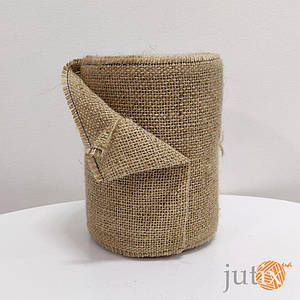 Лента из джутовой мешковины 250 г/м2 15 см