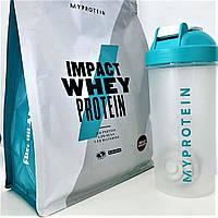 Сывороточный протеин Myprotein Impact Whey Protein 5 kg (вкусы в ассортименте) Майпротеин импакт вей