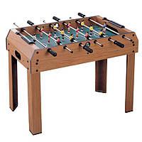 Детская настольная игра Bambi 2031 футбол на штангах с деревянным столом на ножках