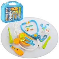 Набор доктора в чемодане 12 предметов 660-18 игрушки для детей