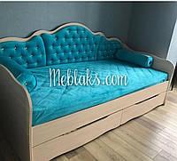 """Подростковая кровать с выдвижными ящиками """"Л-6"""" Италия Lion"""