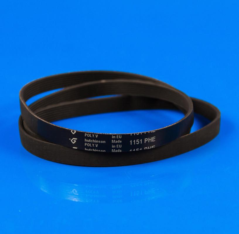 Черный эластичный ремень «Hutchinson» 1151 H7 EL