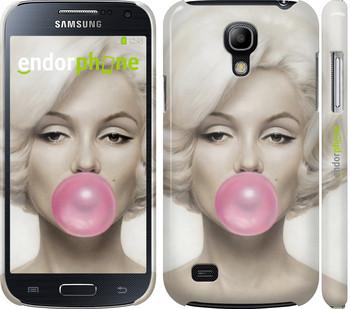 """Чехол на Samsung Galaxy S4 mini Duos GT i9192 Мэрлин Монро """"1833c-63"""""""
