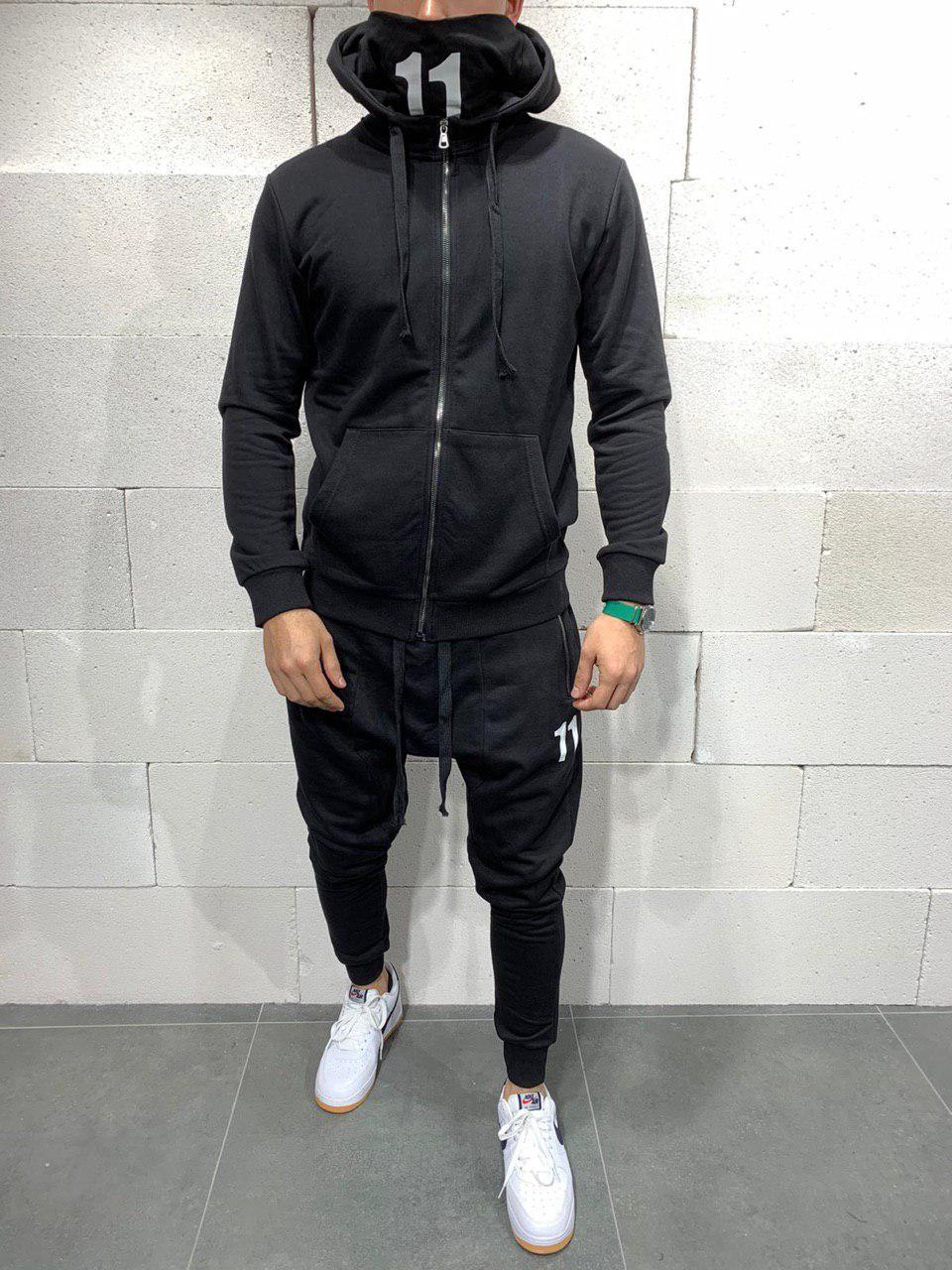 Мужской спортивный костюм 2Y Premium SW5114 black