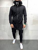 Мужской спортивный костюм 2Y Premium SW5114 black, фото 1