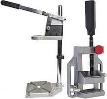Станок для крепления дрели Forte DS 4360 в комплекте с тисками