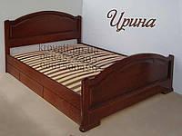 """Кровать полуторная деревянная с ящиками """"Ирина"""" kr.ir5.1, фото 1"""
