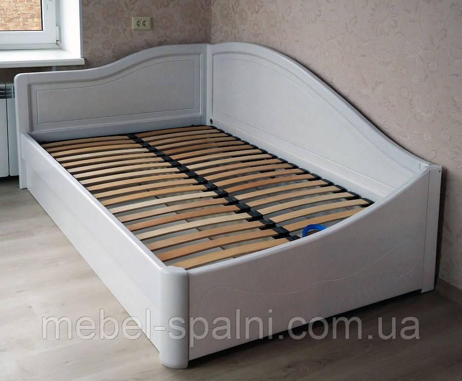 """Кровать полуторная деревянная с подъемным механизмом """"Анна+"""" kr.an7.1"""