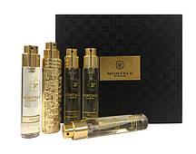 Подарунковий набір міні парфумів унісекс Montale Mukhallat 5в1