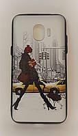 Чехол - накладка для смартфона Samsung J2(2018) Winter