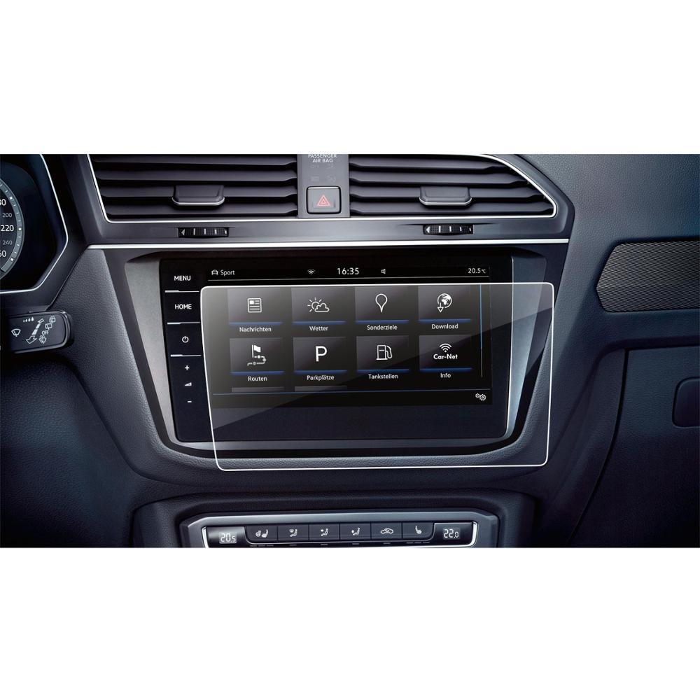 Защитное стекло для экрана мультимедиа (монитор,панель приборов) Volkswagen Tiguan II GTE Allspace Discover