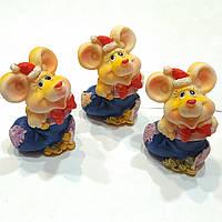 Статуэтка мышка - символ года 2020 ( 6см) 6шт
