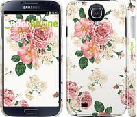 """Чехол на Samsung Galaxy S4 i9500 цветочные обои м1 """"2293c-13"""""""