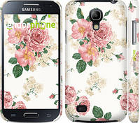 """Чехол на Samsung Galaxy S4 mini Duos GT i9192 цветочные обои м1 """"2293c-63"""""""
