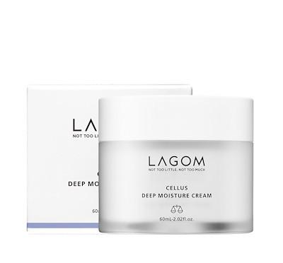 Глубоко увлажняющий крем LAGOM Cellus Deep Moisture cream 60мл