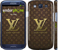 "Чехол на Samsung Galaxy S3 Duos I9300i Louis Vuitton 2 ""455c-50"""