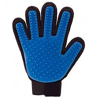 Перчатка для животных вычесывания ТРМ True Touch Pet Brush Gloves синий (45347)