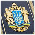 """Подарочный набор графин с рюмками в кожаном футляре """"Украина"""", фото 7"""