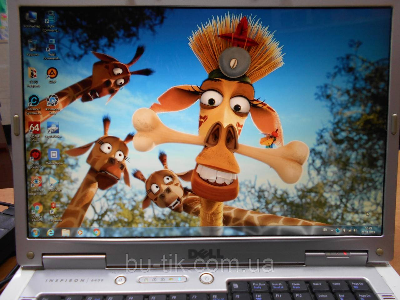 Ноутбук Dell Inspirion 6400 15,4 Pentium T7200 2 GHz DDR2 4Gb SSD