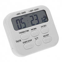Цифровой термометр ТРМ ТА278 для духовки (печи) белый (45820)