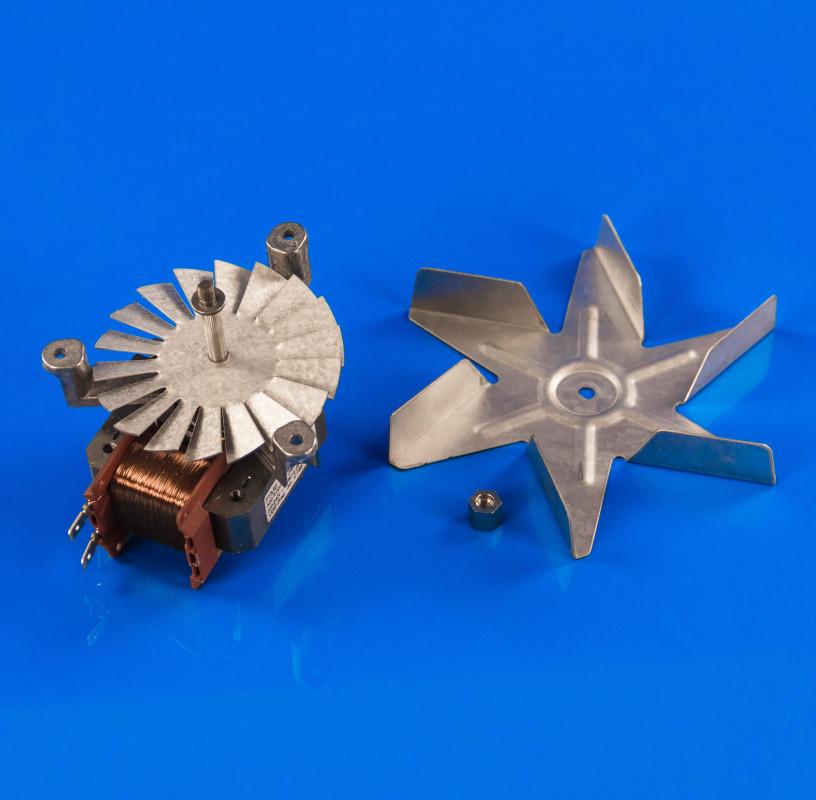 Моторчик конвекционного вентилятора Ariston C00081589 для духовки