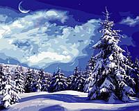 "Картина по номерам ""Красивая зима"" 40*50см, фото 1"