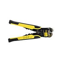 Стриппер клещи для снятия изоляции автоматические ТРМ 001 желтый (46294)
