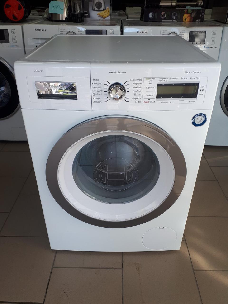 Пральна/стиральная/ машина BOSCH EXCLUSIV 8 kg з Німеччини.