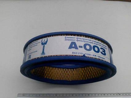 Фильтр воздушный ВАЗ 2101, Промбизнес (А-003) полиуритан (6 шт. в уп-ке)