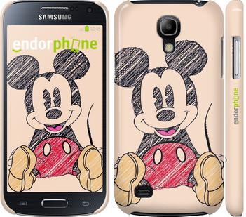 "Чехол на Samsung Galaxy S4 mini Duos GT i9192 Нарисованный Мики Маус ""2731c-63"""