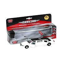 Автомодель Лимузин (белый), 1:43 SL970WB ТМ: Технопарк