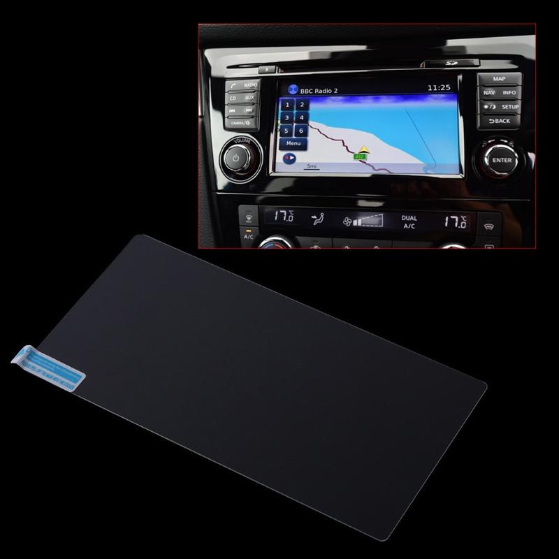 Защитное стекло для экрана мультимедиа (монитор,панель приборов) Nissan Qashqai J11 X-trail Patrol teana Navar